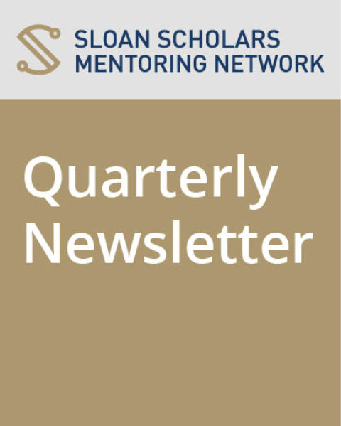 Sloan Quarterly Newsletter – April 2020: Grant Applications due May 1